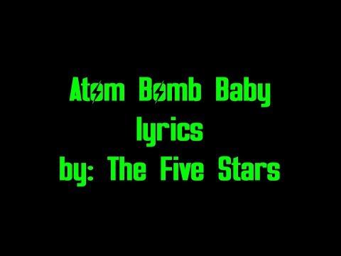 Atom Bomb Baby lyrics