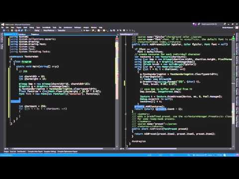 Rendering Bitmap Text Glyphs