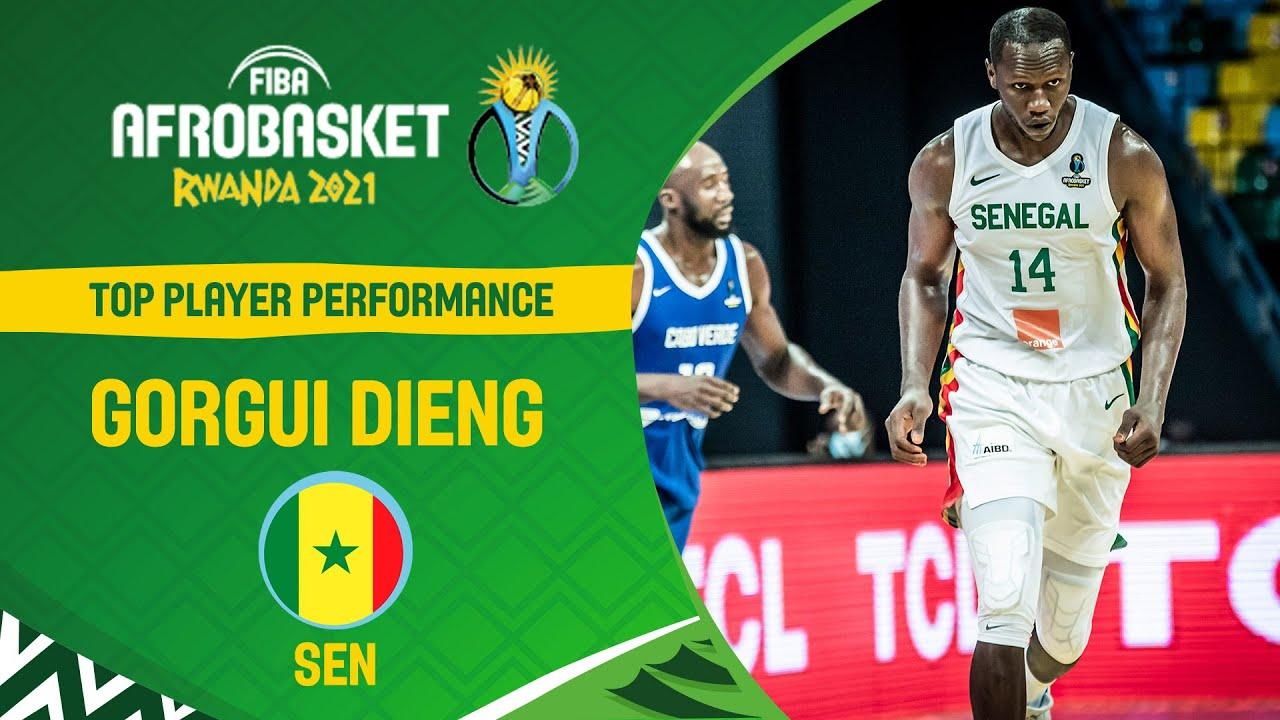 BEST SCORER: Gorgui Dieng | Top Plays | FIBA AfroBasket 2021
