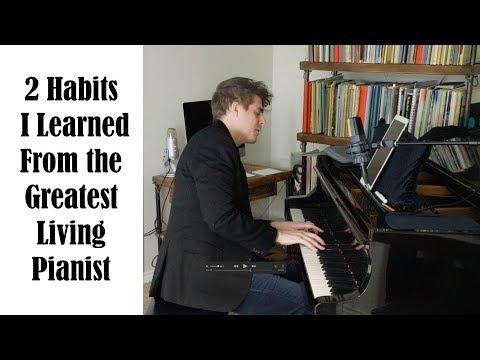 Inspiration And Habits From Sergei Babayan - Josh Wright Piano TV