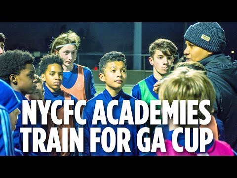 NYCFC Academy Teams Prepare For Generation adidas Cup | ACADEMY INSIDE TRAINING