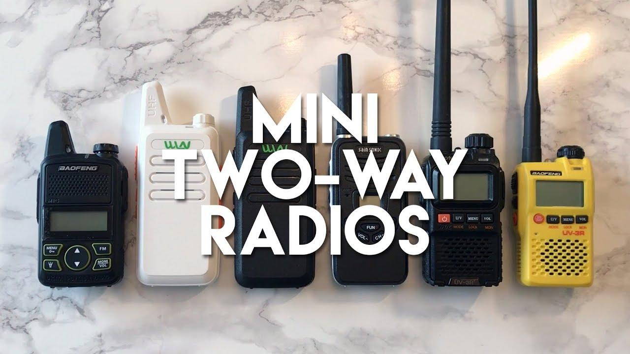 Crazy Cheap Crazy Small Two Way Radios!