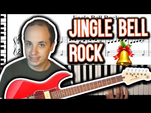 How to Play Jingle Bell Rock on the Piano - Easy Tutorial