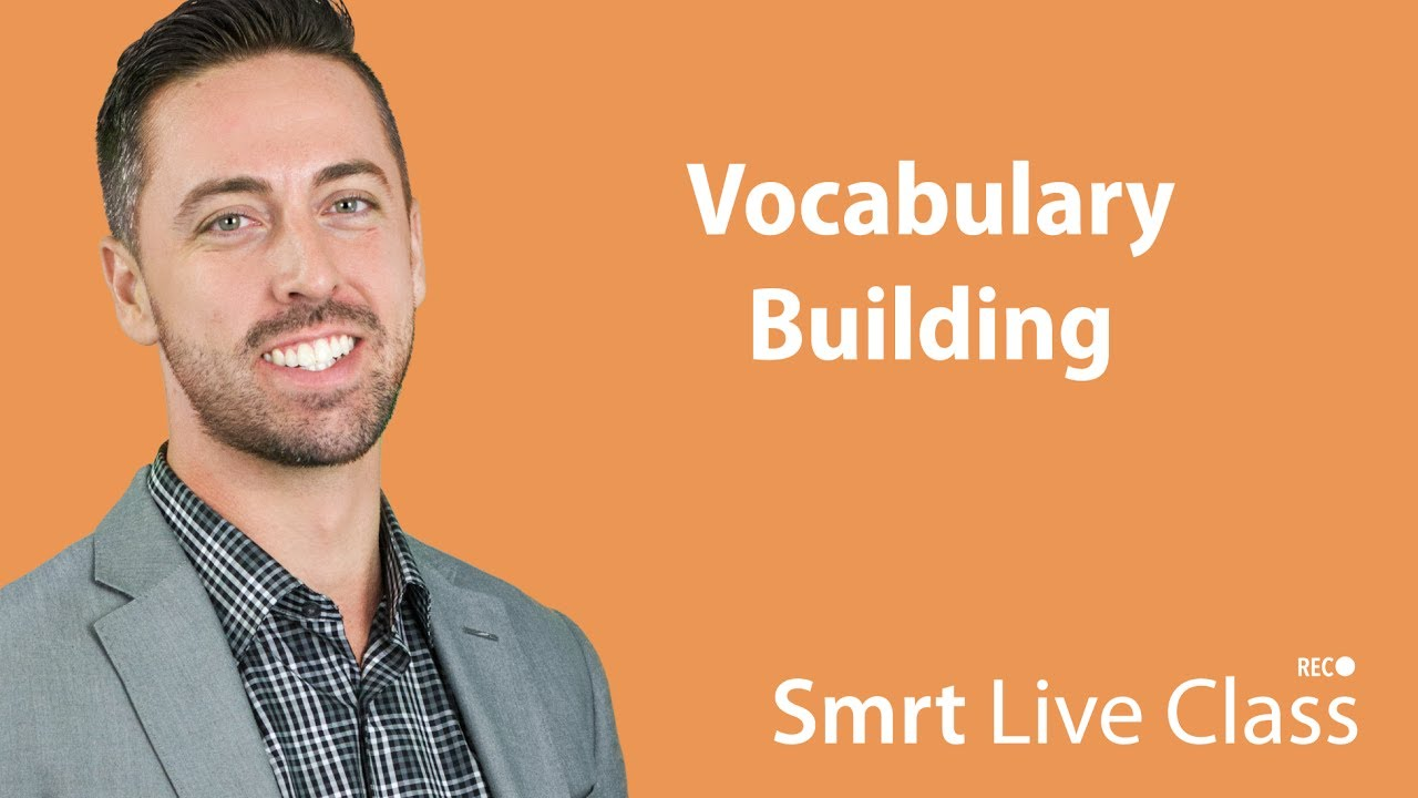 Vocabulary Building - English for Academic Purposes with Josh #51