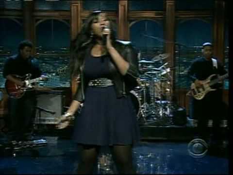 JAZMINE SULLIVAN BUST YOUR WINDOWS LIVE ON CRAIG FERGUSON