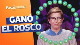 ROSCO GANADOR | Begoña Arias ganó 66 millones en Pasapalabra