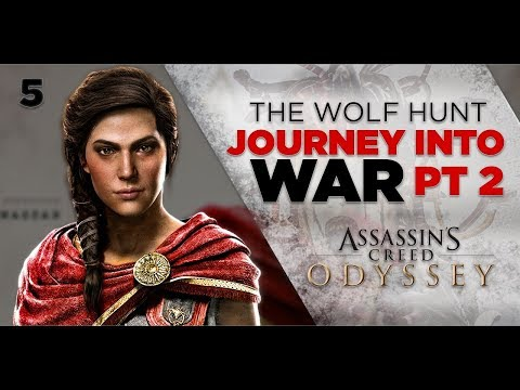 Assassins Creed Odyssey Gameplay | THE WOLF HUNT - Journey Into War Part 2 [5] 1