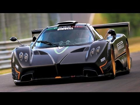 Pagani Zonda R Police Chase Most Wanted 2012 Ultimate Speed Dlc