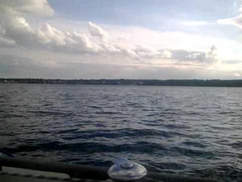 Sailing in Øresund Strait (Danish)