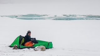-30C Camping & Photoġraphy at Tsomoriri | Winter in Ladakh | Episode #5