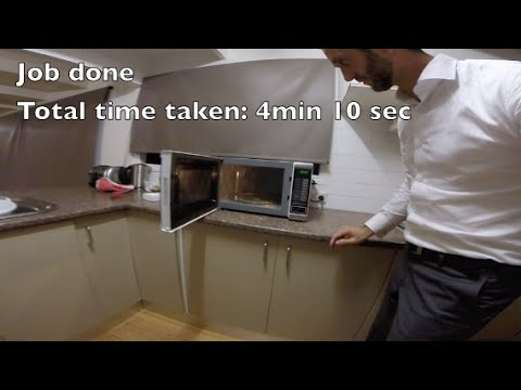How To Replace A Microwave Bulb In 4 Minutes Amp 10 Seconds