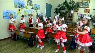 фізкультхвилинка у 3 А Котелевської гімназії №1 Полтавської області