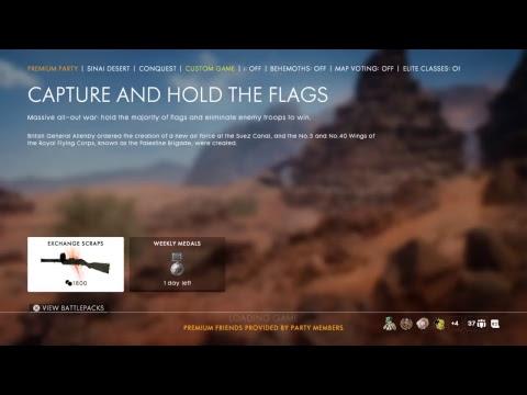 BATTLEFIELD 1 - Clan War UGD VS THAI, Tank Gameplay @Amiens