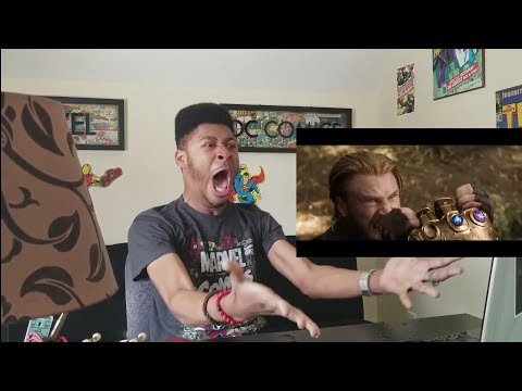 MARVEL STUDIOS' AVENGERS: INFINITY WAR - OFFICIAL TRAILER 2 -- (REACTION!!!) THIS WAS GODLY!!!!! streaming vf