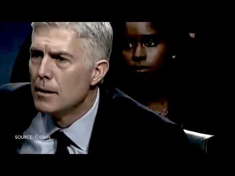 Senator Whitehouse grills Gorsuch over $17 million in dark money