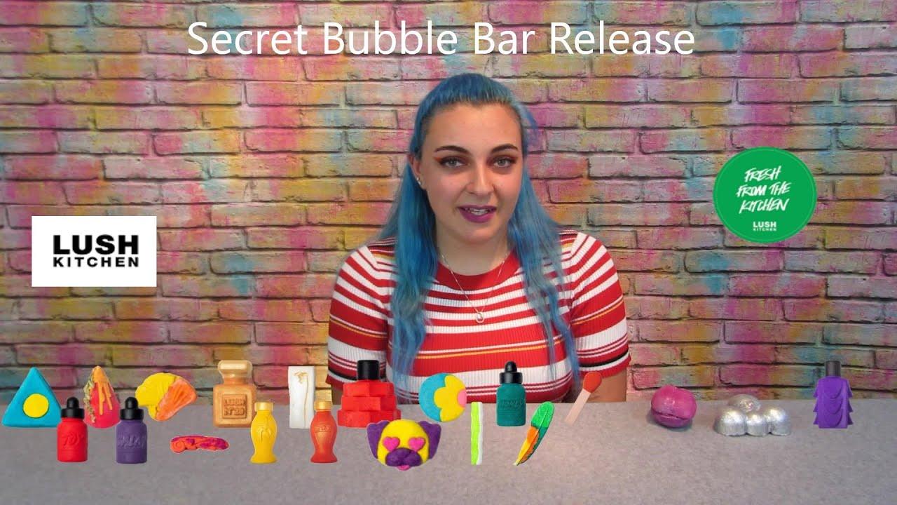New lush Kitchen Subscription !!! Secret Bubble Bar ...