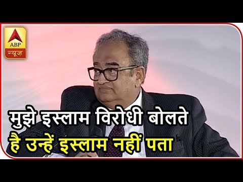 """Shikhar Samagam 2018: Journalist Tarek Fatah says, """"If you are with military,you are enemy 