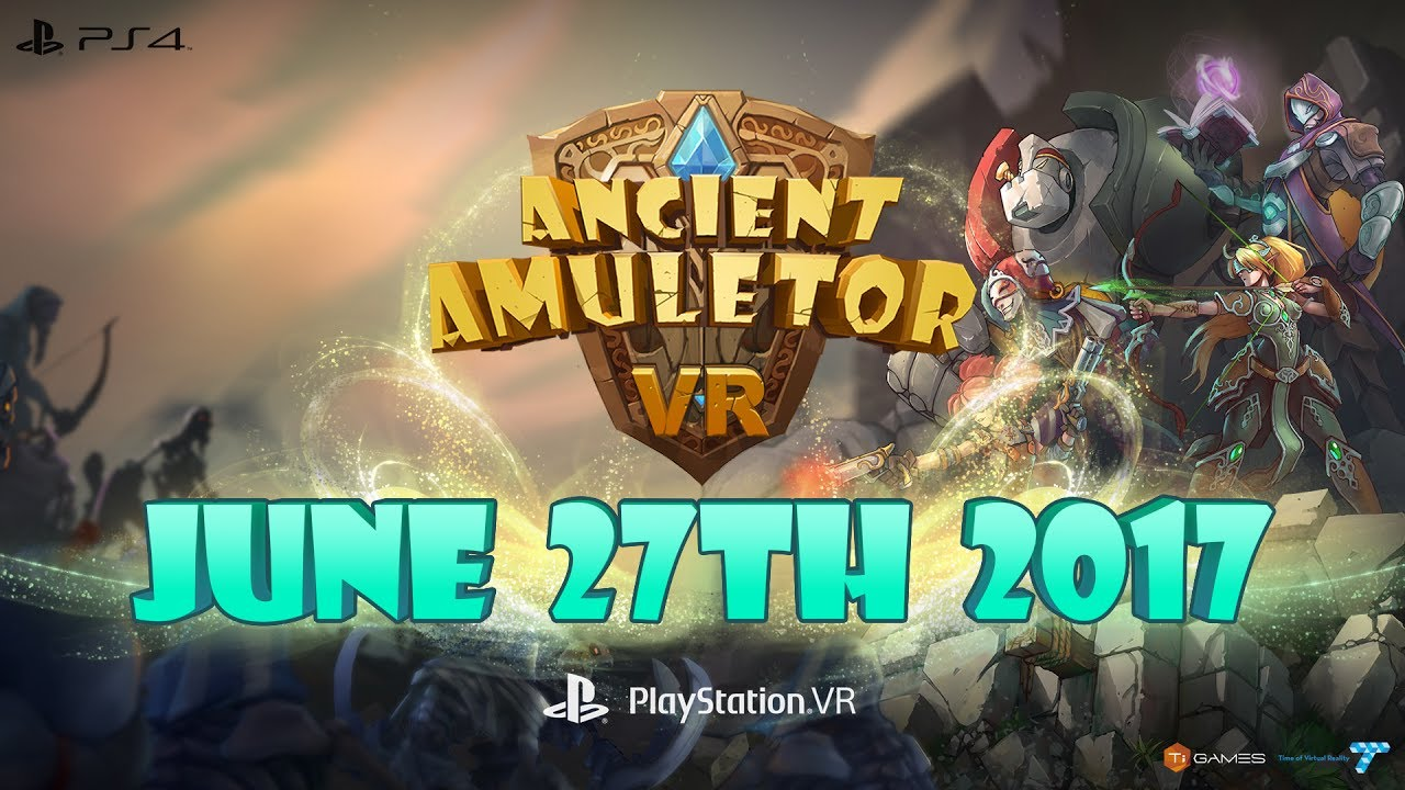 Ancient Amuletor - Release Date Announcement Trailer