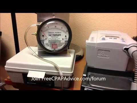 Centimeters of water pressure and pounds per square inch. CPAP Therapy. FreeCPAPAdvice.com