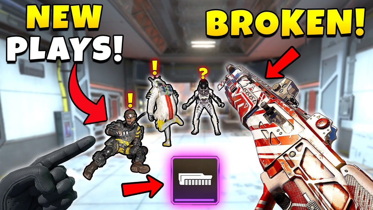 *NEW* MASFIFF IS STILL BROKEN WITH PURPLE BOLT! - Top Apex Legends Funny & Epic Moments #704
