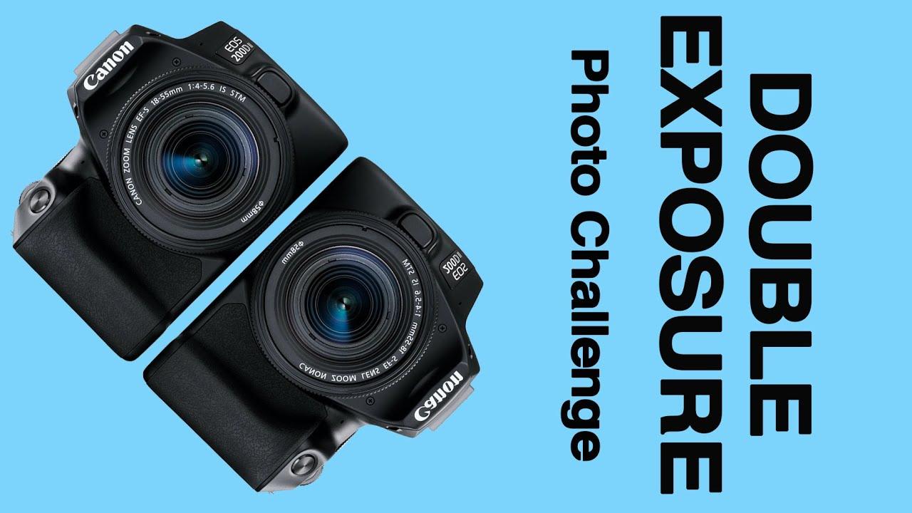 DOUBLE EXPOSURE PHOTOGRAPHY - The Photo Genius Challenge No16