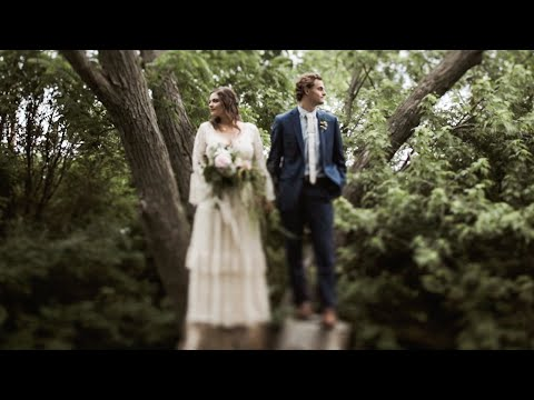 Intimate Summer Wedding in Wisconsin | JOSIAH + KALEY