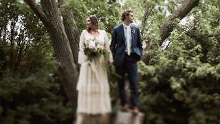 Intimate Summer Wedding in Wisconsin   JOSIAH + KALEY