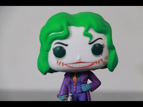 Funko Pop Hot Topic exclusive The Joker (Martha Wayne) review