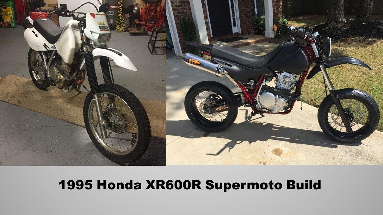 XR600R Supermoto Build