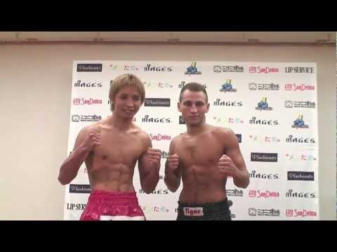 9.25 K-1 WORLD MAX 2011: Weigh-In!!