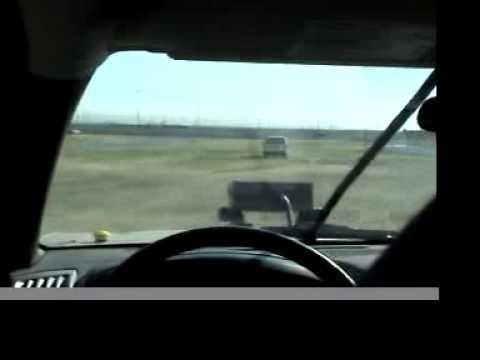 Princeton DARPA Grand Challenge - Crash Video
