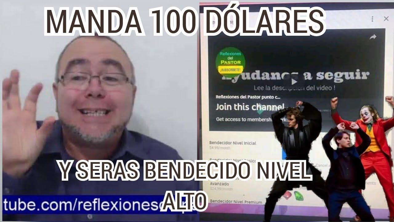 CUANDO YA DONASTE LOS 100 DÓLARES Y RESIVES LA BENDICIÓN NIVEL ALTO