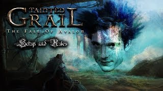 Tainted Grail: The Fall of Avalon Setup & Rules