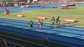Men's 100m, FINAL, Stage 2, Heat 5, Youth Olympic Games, Buenos Aires 2018
