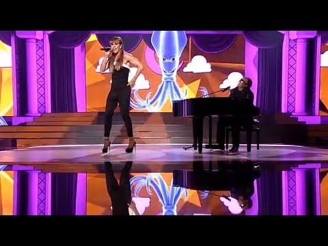 Aleksandra Szwed i Marek Kaliszuk jako Stevie Wonder i Ariana Grande - Twoja Twarz Brzmi Znajomo