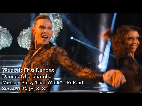 Adam Rippon - All Dancing With The Stars Performances
