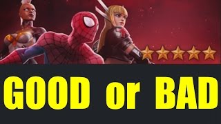 MARVEL: Contest of Champions (iOS/Android) HOW TO GET 5 STAR HEROES GOOD or BAD