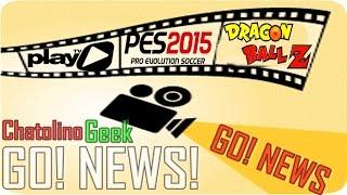 Play TV com novos Animes, Nova atualização para o PES 2015 e mais...(GO! NEWS)