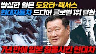 방심한 일본 도요타, 렉서스 현대자동차 드디어 글로벌 1위 탈환 7년 만에 일본 침몰시킨 현대차 l Hyudai Proves Global Popularity [ENG SUB]