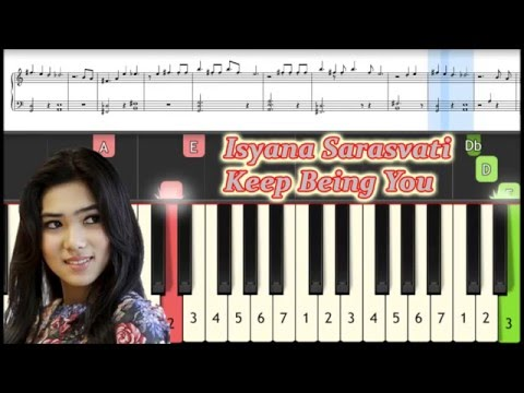 Keep Being You - Isyana Sarasvati - Piano Tutorial