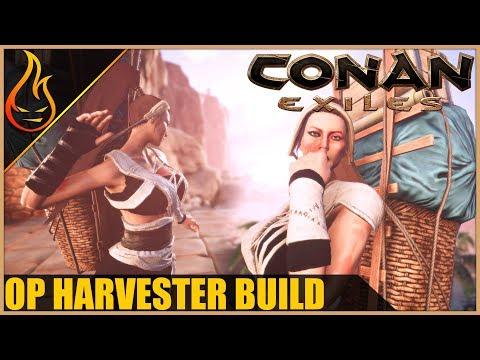 The Harvester Build Conan Exiles 2018 Pro Tips