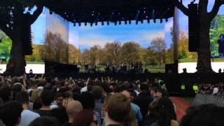 the pogues dirty old town hyde park 2014