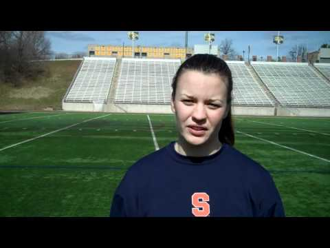 Goalie Liz Hogan Previews Towson - Syracuse Women