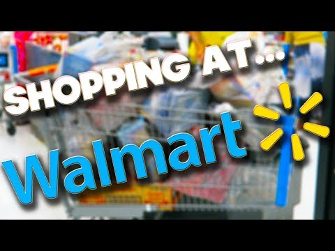 SHOPPING AT WALMART - ORLANDO 2018