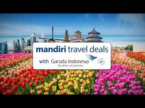 mandiri travel deals with garuda indonesia