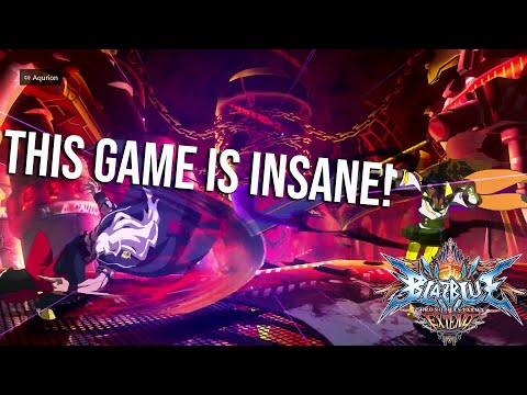 THIS GAME IS CRAZY! - BLAZBLUE: CHRONOPHANTASMA EXTEND GAMEPLAY! |