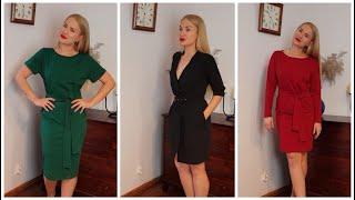 Trzy sukienki czyli propozycję światecznych stylizacji