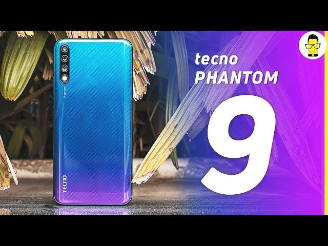 Tecno Phantom 9 unboxing and quick look: AMOLED, in-display scanner, triple camera for 14,999!