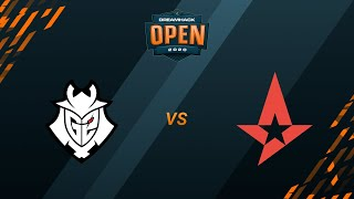 G2 vs Astralis - Inferno - Group B - DreamHack Open Fall 2020