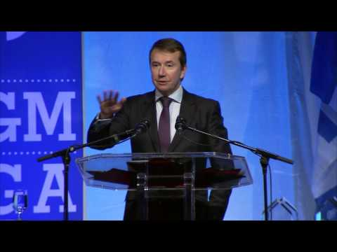 Treasury Board President Scott Brison's address to delegates at the 2016 AGM